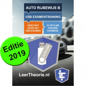 USB Theory for The Netherlands in English for CBR Car - 13 theory exam